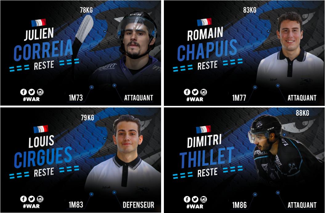 Dimitri THILLET + Julien CORREIA + Romain CHAPUIS + Louis CIRGUES
